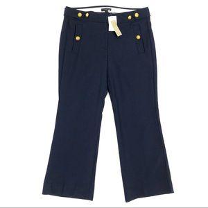 J Crew Sailor Pants Navy Wool Duchess Kate